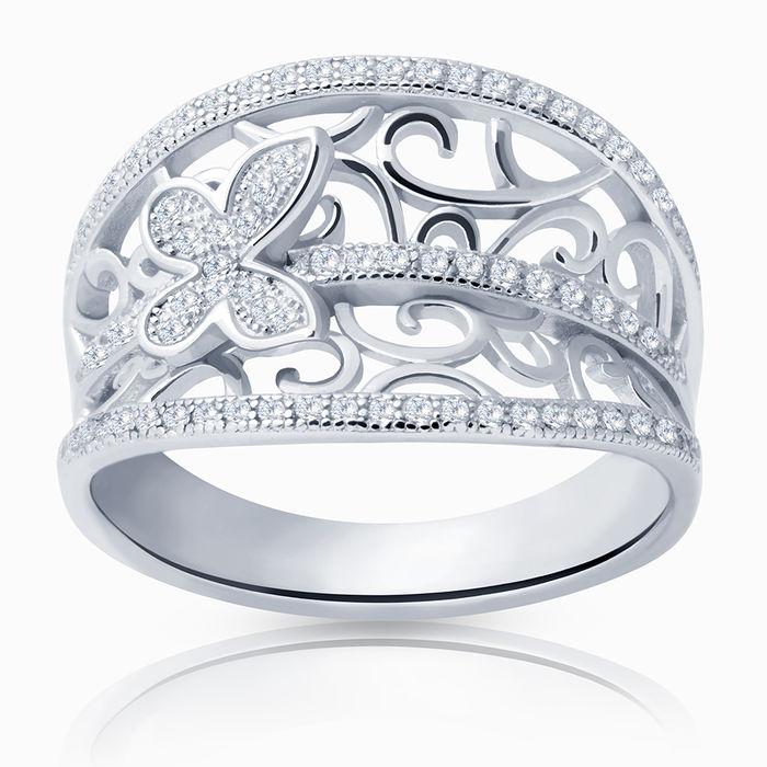 Серебряное кольцо Фианит арт. 08748 08748