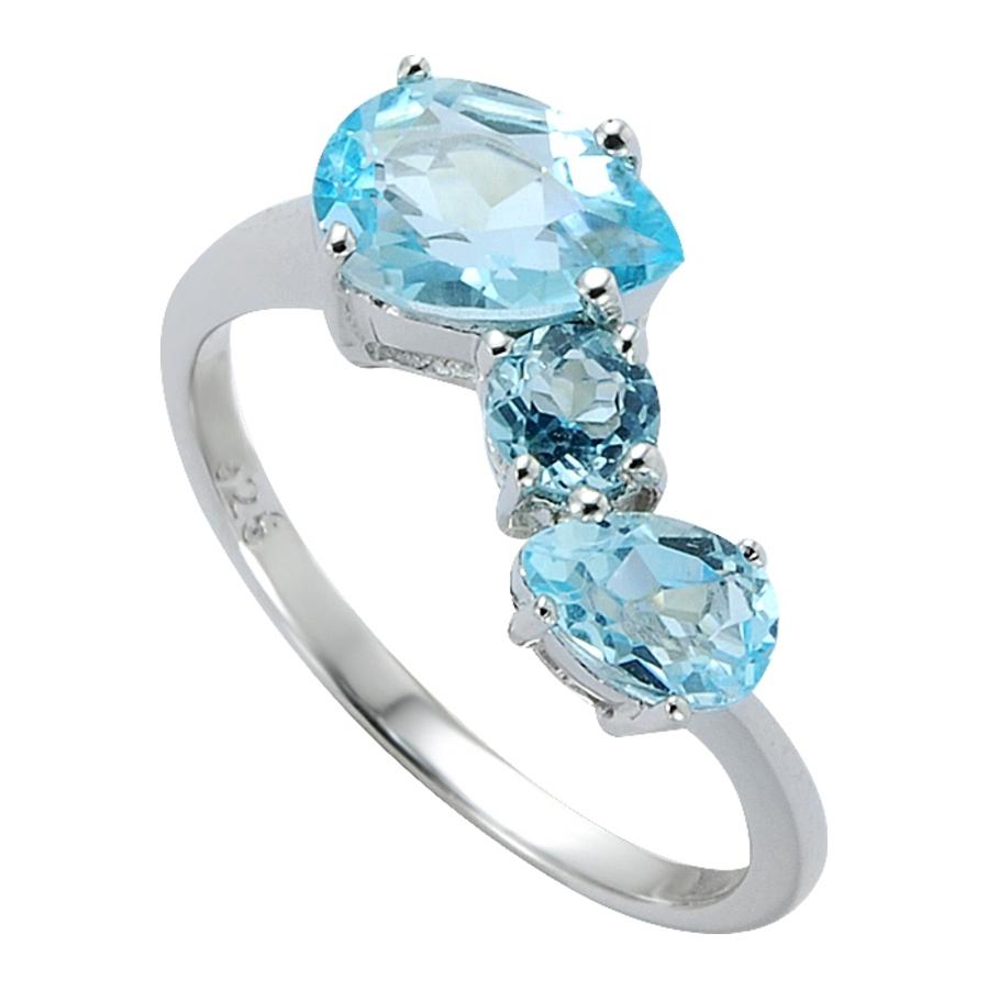 Серебряное кольцо Топаз арт. 41100003 41100003