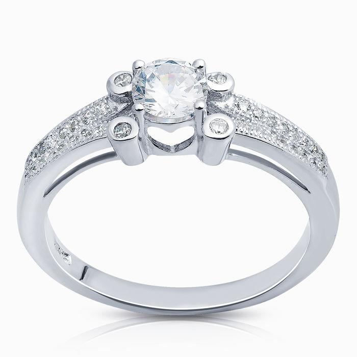 Серебряное кольцо Фианит арт. 09183 09183