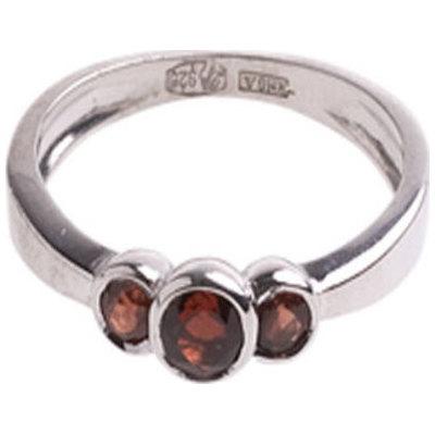 Серебряное кольцо Гранат арт. 4к-5154-04 4к-5154-04