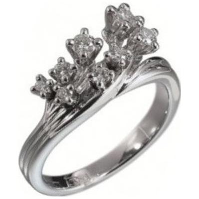 Кольцо из белого золота Бриллиант арт. 010168 010168