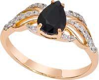 Золотое кольцо Бриллиант и Сапфир арт. 1019051-11140-с 1019051-11140-с