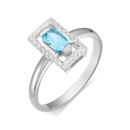 Серебряное кольцо Топаз арт. 01-0276/00тб-00 01-0276/00тб-00