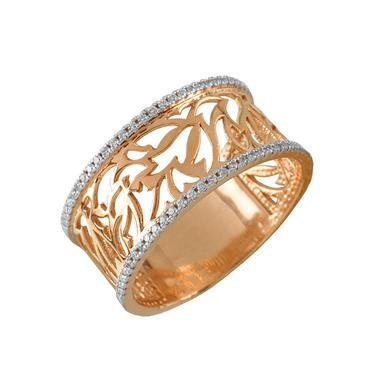 Золотое кольцо Фианит арт. 4233 4233