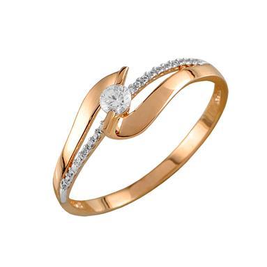 Золотое кольцо Фианит арт. 4026 4026