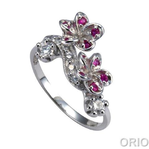 Серебряное кольцо Прочие и Фианит арт. 41100058 41100058