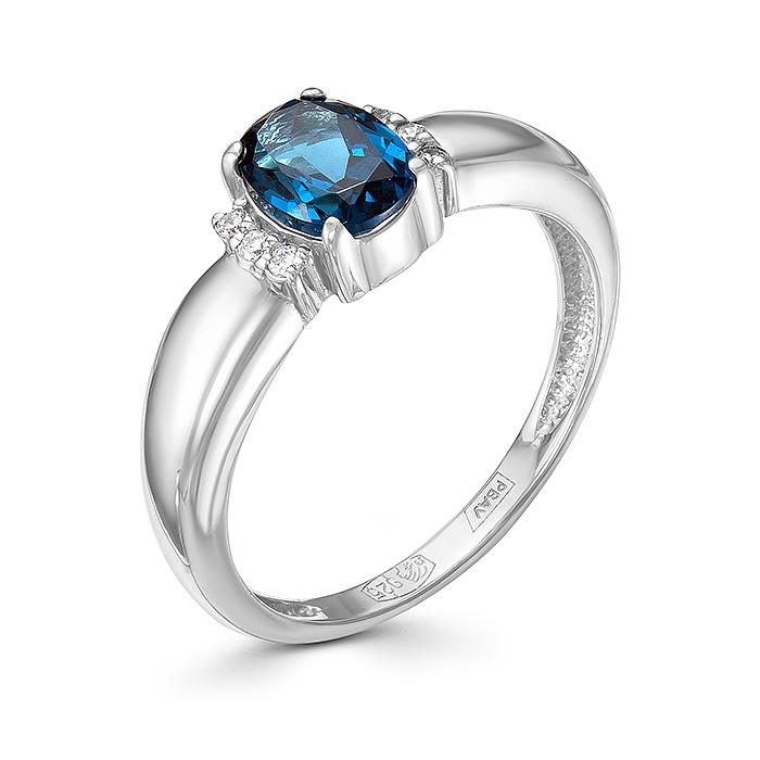 Серебряное кольцо Прочие и Фианит арт. 01-0273/0нсл-00 01-0273/0нсл-00