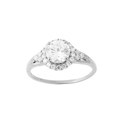Серебряное кольцо Фианит арт. к290 к290
