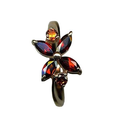 Серебряное кольцо Фианит и Хризолит арт. я41500273 я41500273