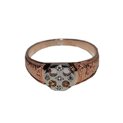 Обручальное кольцо из серебра с фианитом арт. 1502329 1502329
