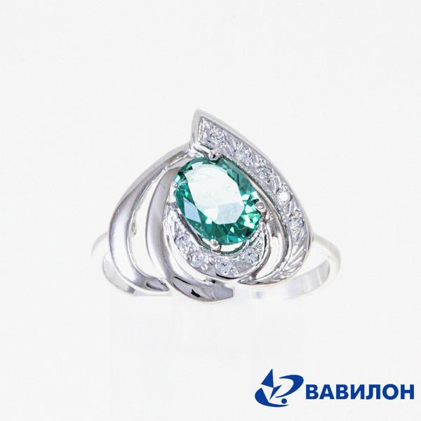 Серебряное кольцо Прочие и Фианит арт. 1502592 1502592