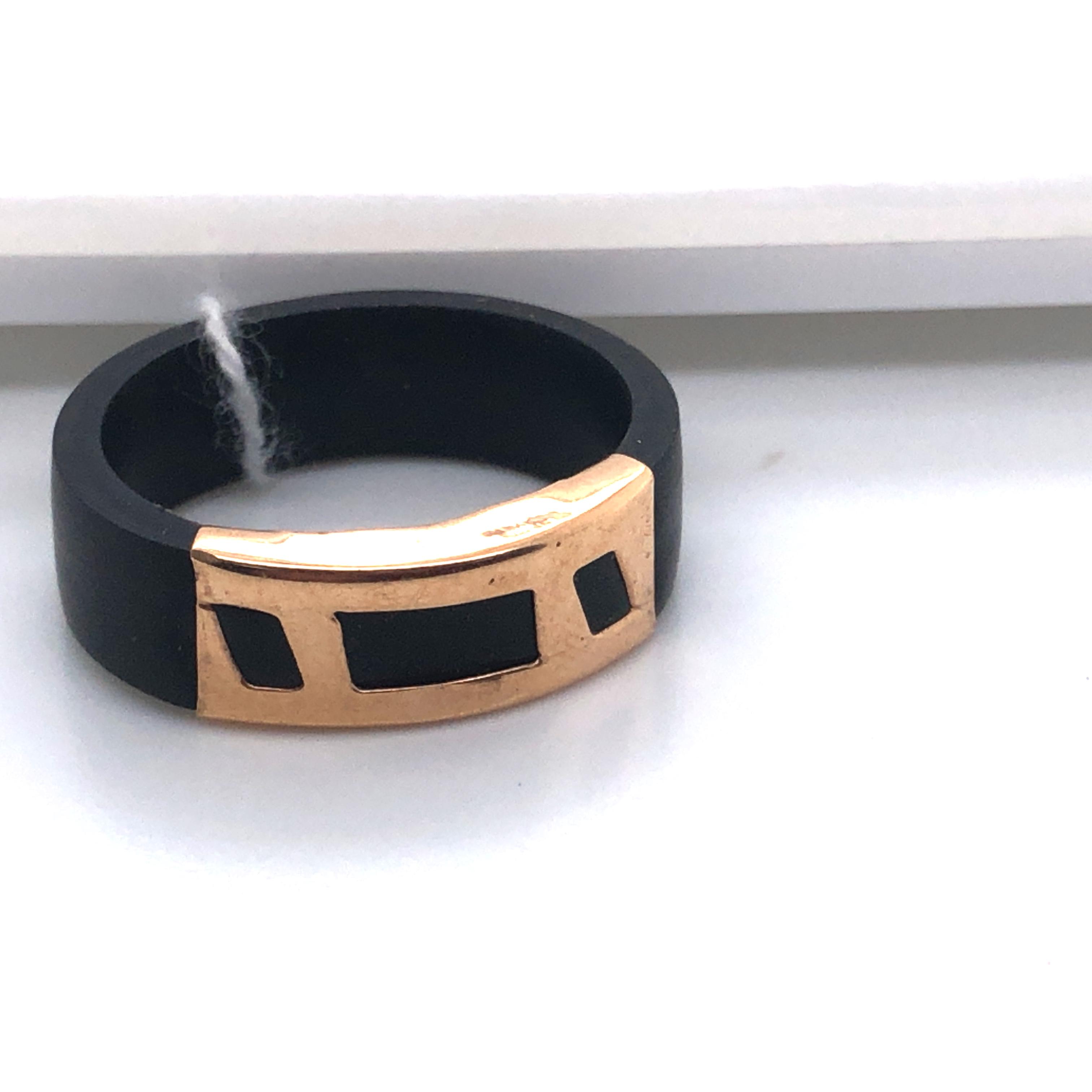 Золотое кольцо Каучук арт. 147300 147300
