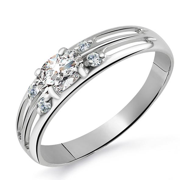 Серебряное кольцо Фианит арт. к130 к130
