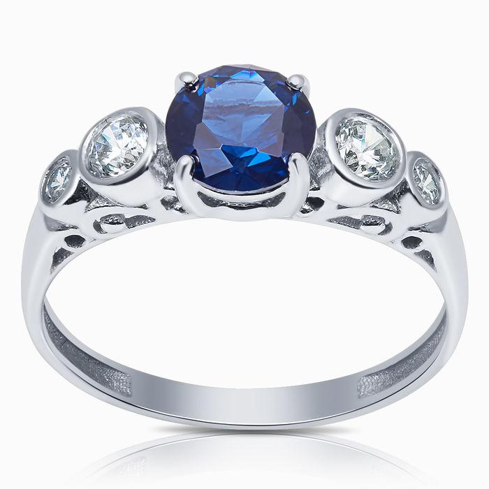 Серебряное кольцо Прочие и Фианит арт. 40851 40851