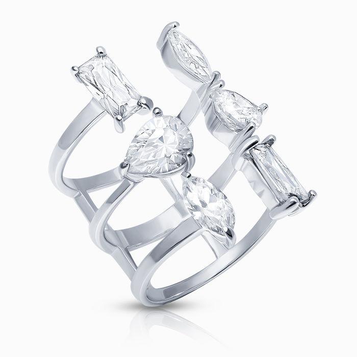 Серебряное кольцо Фианит арт. 40725 40725