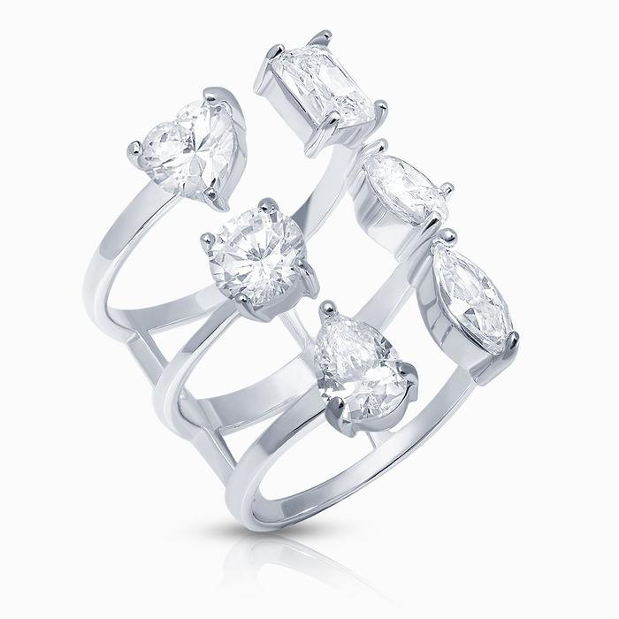 Серебряное кольцо Фианит арт. 40746 40746