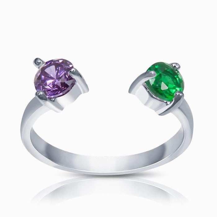 Серебряное кольцо Фианит арт. 40722 40722