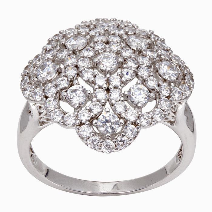 Серебряное кольцо Фианит арт. 03765 03765