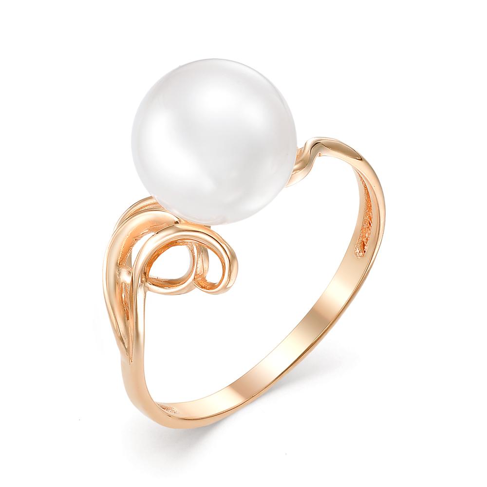 Золотое кольцо Жемчуг арт. 21409А1 21409А1