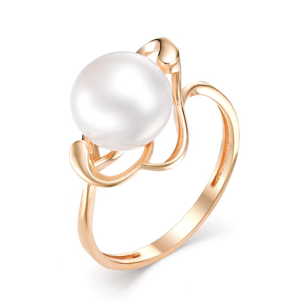 Золотое кольцо Жемчуг арт. 21410A1 21410A1