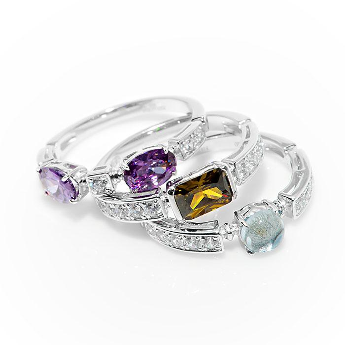 Серебряное кольцо Фианит арт. r907454 r907454