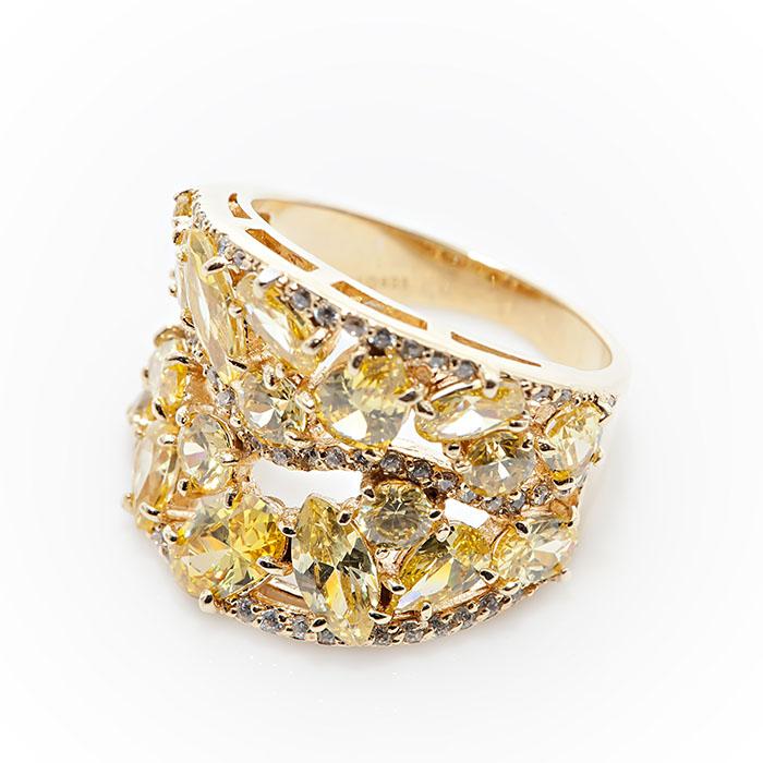 Серебряное кольцо Прочие и Фианит арт. r907433 r907433