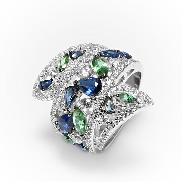 Серебряное кольцо Фианит арт. r907293 r907293