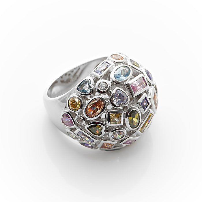 Серебряное кольцо Фианит арт. r905312 r905312