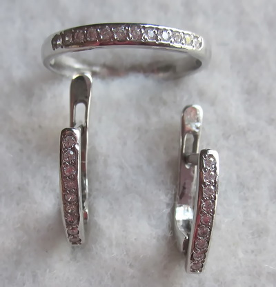 Серебряное кольцо Фианит арт. к687 к687