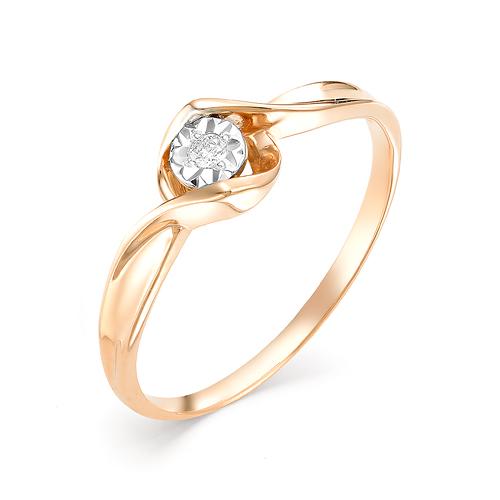 Золотое кольцо Бриллиант арт. 1-106-453 1-106-453