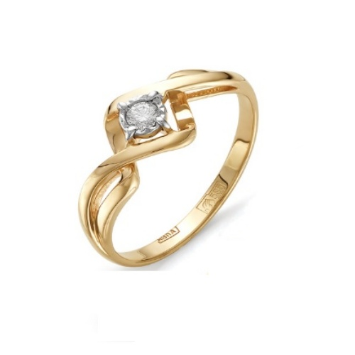 Золотое кольцо Бриллиант арт. 1-105-270 1-105-270