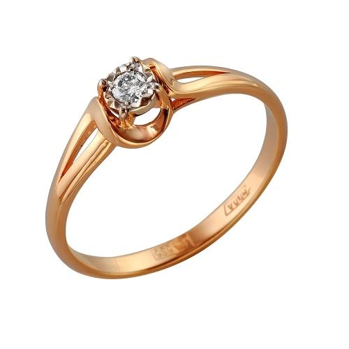 Золотое кольцо Бриллиант арт. 1-105-274/1 1-105-274/1