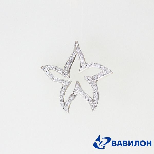 Серебряный подвес с фианитом арт. 3502182 3502182