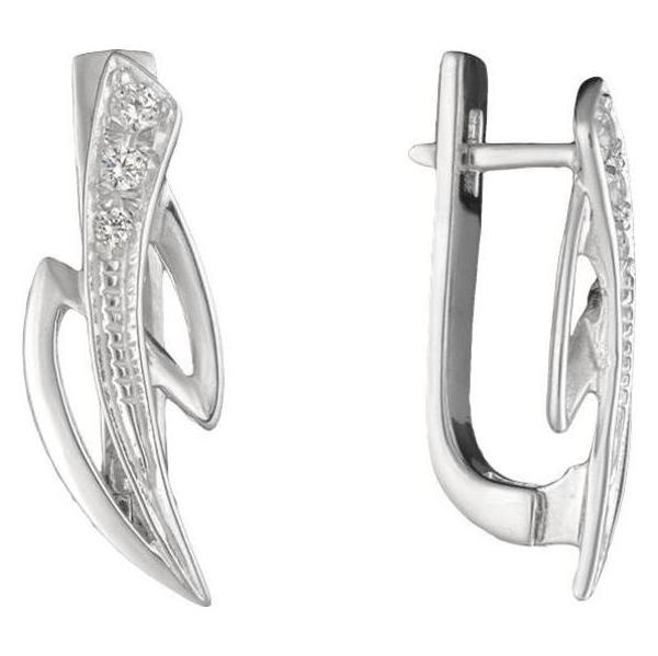 Серебряные серьги с фианитом арт. Y6200452 Y6200452