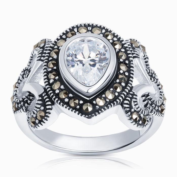 Серебряное кольцо Прочие и Фианит арт. 40261 40261