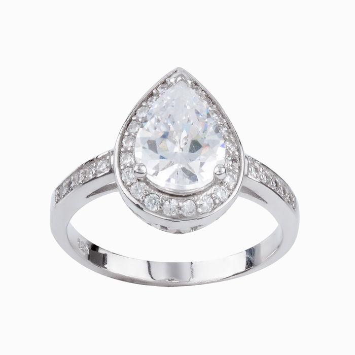 Серебряное кольцо Фианит арт. 15520 15520