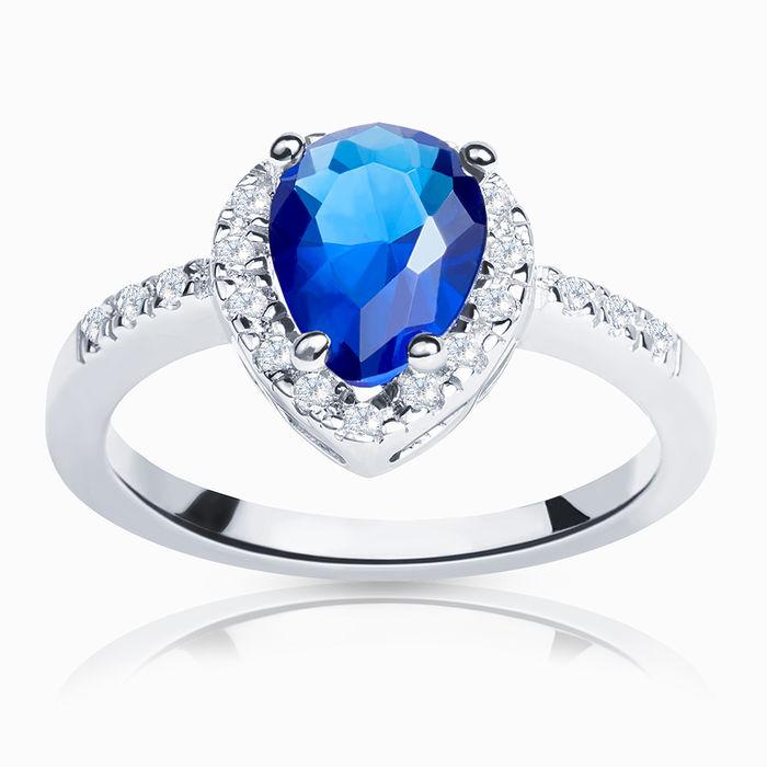 Серебряное кольцо Фианит арт. 00607 00607