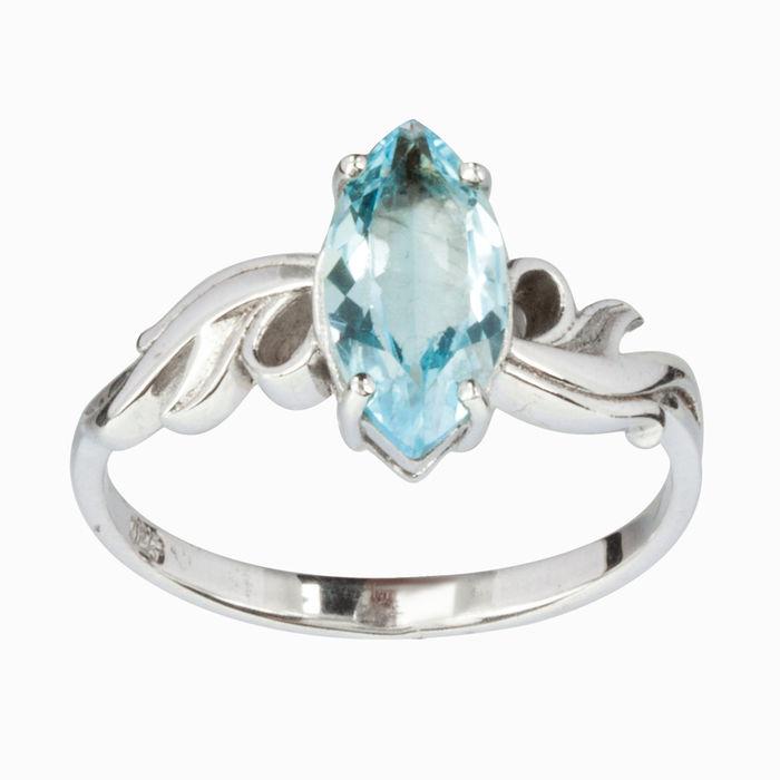 Серебряное кольцо Топаз арт. 15957 15957