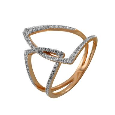 Золотое кольцо Фианит арт. 4139 4139