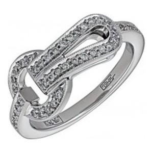 Кольцо из белого золота Бриллиант арт. 010328 010328