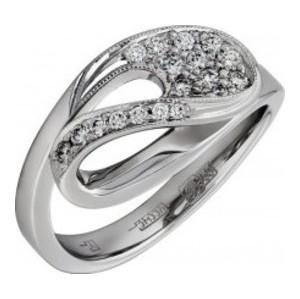 Кольцо из белого золота Бриллиант арт. 010298 010298