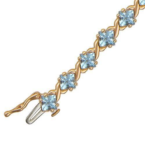 Золотой браслет с топазом арт. 01б310949 01б310949