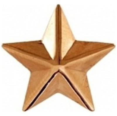 Звезда на погоны из золота арт. 74121 74121