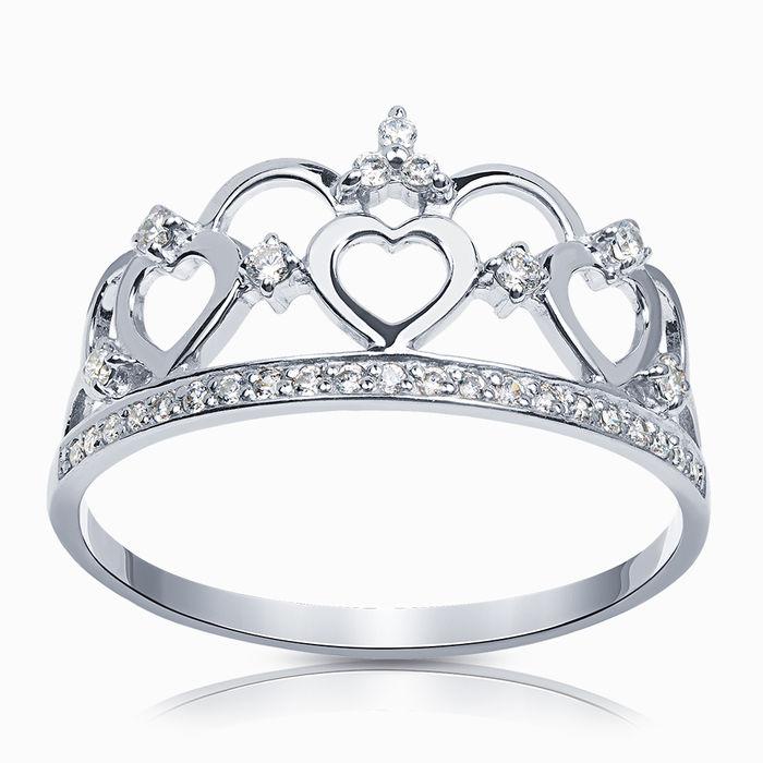 Серебряное кольцо Фианит арт. 37799 37799