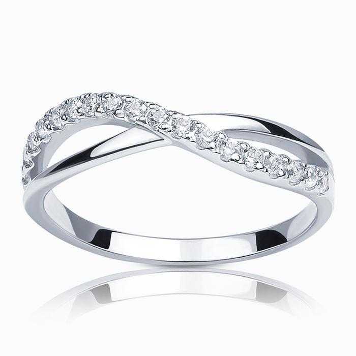 Серебряное кольцо Фианит арт. 25585 25585