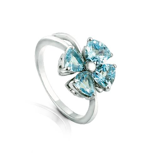 Серебряное кольцо Топаз арт. я41300395 я41300395