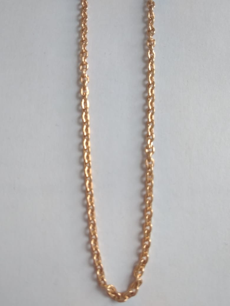 Облегченная цепь из золота арт. ц-60208-55 ц-60208-55