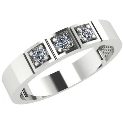 Обручальное кольцо из лимонного золота с бриллиантом арт. 1021431-31140 1021431-31140