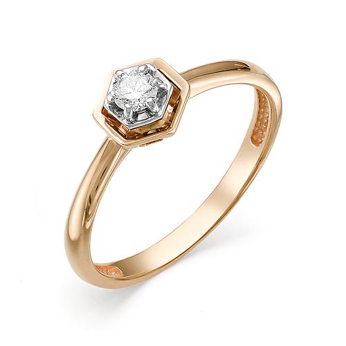 Кольцо из белого золота Бриллиант арт. 1-106-270 1-106-270