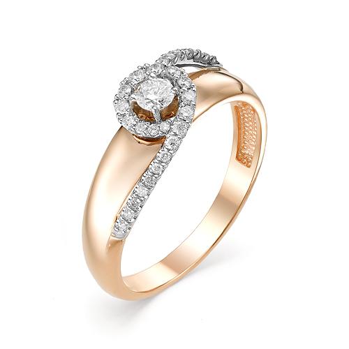 Золотое кольцо Бриллиант арт. 1-106-568 1-106-568